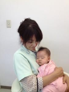 山本久美子さん赤ちゃん